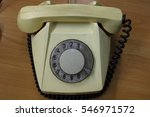 the old phone number and phone... | Shutterstock . vector #546971572