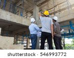 construction concepts  engineer ... | Shutterstock . vector #546993772