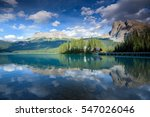 emerald lake in yoho national...   Shutterstock . vector #547026046