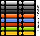 blank template web 2.0 buttons...   Shutterstock .eps vector #54702829