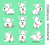 cartoon character white... | Shutterstock .eps vector #547030012