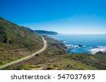 California's Coastline Along...