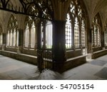 The Gothic Westminster Abbey...