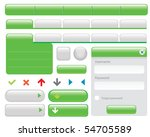wide range of buttons elements...