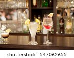 any cocktails at the bar | Shutterstock . vector #547062655