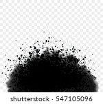 black ink wash detailed grunge... | Shutterstock .eps vector #547105096