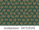 seamless pattern of hawaiian... | Shutterstock . vector #547119145