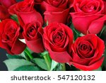 Stock photo bouquet of red roses 547120132