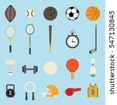 sports icon design vector | Shutterstock .eps vector #547130845