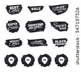 ink brush sale stripes and... | Shutterstock .eps vector #547137526