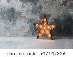 large decorative retro star... | Shutterstock . vector #547145326