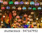 Colorful Turkish Lamps Hanging...