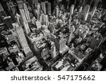 looking down on old new york... | Shutterstock . vector #547175662