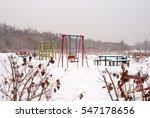 Playground Under The Snow. On...