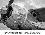 Vintage Steel Propeller Plane...