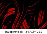 red ornament. wavy lines.... | Shutterstock .eps vector #547194232