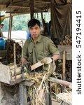 mai chau  vietnam   january 13  ... | Shutterstock . vector #547194415