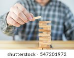 planning  risk and strategy of... | Shutterstock . vector #547201972