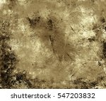 old dramatic grungy texture... | Shutterstock . vector #547203832