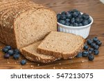 healthy wholemeal bread and...   Shutterstock . vector #547213075