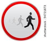 athlete | Shutterstock .eps vector #54721873