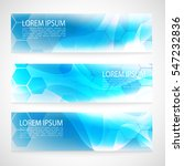 design banner abstract blue... | Shutterstock .eps vector #547232836