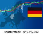 economy germany financial... | Shutterstock .eps vector #547242352