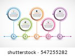 abstract options infographics... | Shutterstock .eps vector #547255282