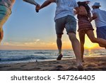 group of happy young people...   Shutterstock . vector #547264405