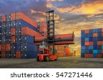 Industrial Container Yard For...