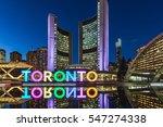 toronto  canada   november 11 ... | Shutterstock . vector #547274338