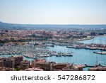 panoramic view of palma de... | Shutterstock . vector #547286872