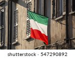 realistic view of the italian... | Shutterstock . vector #547290892