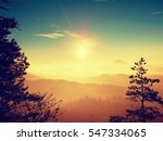 first powder snow cover on... | Shutterstock . vector #547334065