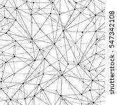 geometric mesh seamless pattern | Shutterstock .eps vector #547342108