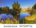 rotorua government gardens and... | Shutterstock . vector #547349716