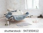 white loft interior in classic... | Shutterstock . vector #547350412