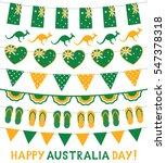 banner decoration in national... | Shutterstock .eps vector #547378318
