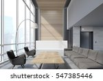 office waiting area with sofas  ... | Shutterstock . vector #547385446