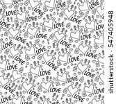 background with valentine s... | Shutterstock .eps vector #547405948