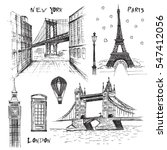 Paris  London And New York...