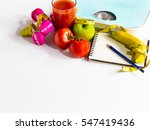 healthy eating  workout and...   Shutterstock . vector #547419436