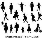 kids | Shutterstock .eps vector #54742255