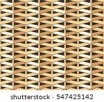 weave seamless pattern. straw... | Shutterstock .eps vector #547425142