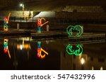 view of fisherman christmas... | Shutterstock . vector #547432996