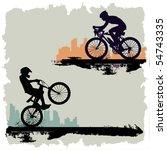 bicycle | Shutterstock .eps vector #54743335