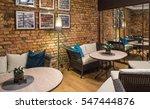 interior of restaurant.  brick... | Shutterstock . vector #547444876