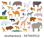Extra Big Set Zoo Animals...