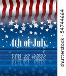 the fourth of july independence ...   Shutterstock .eps vector #54744664