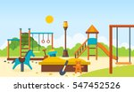 concept illustration   kids... | Shutterstock .eps vector #547452526